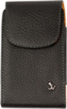 Vertical Leather Pouch Case with Belt Clip (M)