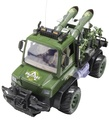 Remote Control Military Missile Combat Vehicle
