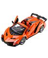 (Orange) Remote Control Elite Convertible Racer