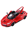 (Red) Remote Control Turbo Fleet Race Car