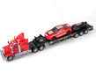 Remote Control Semi Truck Carrier With Tow Bed a