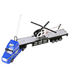 (Blue) Remote Control Big Rig with