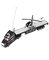 Remote Control Big Rig with Helicopter