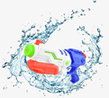 19.5 inch Soaker High Pressure Water Gun Toy, Wh