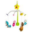 Musical Crib Mobile with Four Squi