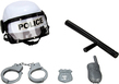 (White) Combat Police Helmet and Accessories Pla