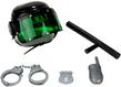 (Black) Combat Police SWAT Helmet and Accessorie