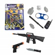 Pretend Play Police Combat Pack 10 Pieces: Toy G