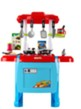 (Blue/Red) Jumbo Kitchen Play Set