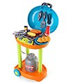 Grill N Go Barbecue Grill Set on Wheels