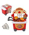 Portable Barbecue Hamburger Grill Set Food Truck
