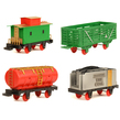 4 Extra Cars for Train Set TOYTRN004; Cargo Cart