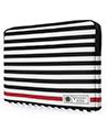 Vangoddy Luxe R Series Black White Stri