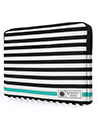 Vangoddy Luxe B Series Black White Stri