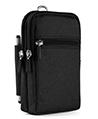 (Black) Utility Travel Waist Pouch