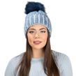 Aerusi Melinda Knitted Beanie (Blue)