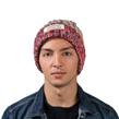 (Biege) Aerusi Echo Pompom Knit Beanie (Biege)