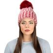 Aerusi Melinda Knitted Beanie (Red)