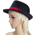 Aerusi Black Strone Straw Hat
