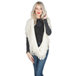Aerusi Women's Soft Infinity Scarf (Cream)