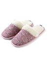 (Size 6) Aerusi Jade Twill Slipper (Purple)