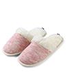 (Size 6) Aerusi Jade Twill Slipper (Pink)