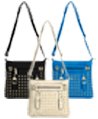 Vangoddy Rock Studded Crossbody Bags