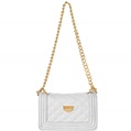 (White) Vangoddy Cindy Quilted Cro