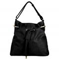 (Black) Quinn Bucket Tote Bag