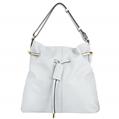 (White) Quinn Bucket Tote Bag