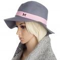 Aerusi Grey Echo Floppy Hat