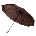 Red and Yellow Plaid Umbrella