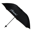 Aerusi Black with Checker Trim Umbrella