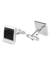 Carbon Fiber Square Cuff links