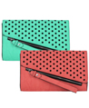 Dotty Oversize Clutch