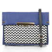 (Blue) Izzy Crossbody Purse