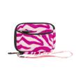 (Pink & White Zebra Design) Soft M
