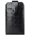 Vertical Wallet Holster with Buckle Loop