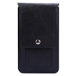 Leather Wallet Carrying Case (Blac
