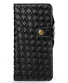 Weave Design Wallet Case for Samsung Galaxy Note