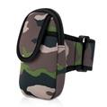 Army green neoprene armband