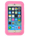 (Pink) Hard Shell Waterproof Case