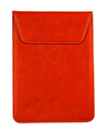 (Red) Slim Fit Tablet Pouch With Magnetic Flap