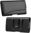Mega 6.3 Black Horizontal Pouch with Beltclip an
