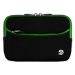 Black with Green Trim Carrying Case Carrying Slee