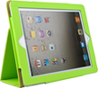 Deluxe Green Portfolio Case with Fold to Stand F