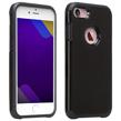 (Black) Design Hybrid Case for iPh