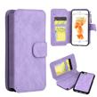 (Lilac) Luxury Flip Wallet Case fo
