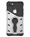 Hybrid Skin Case with Kickstand for Apple iPhone