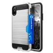 (Silver) Card Holder Hybrid Protec